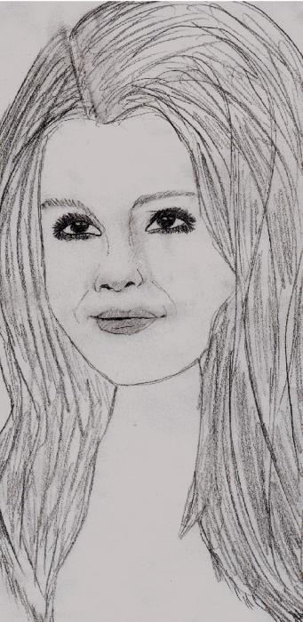 Selena Gomez by pearlipopette